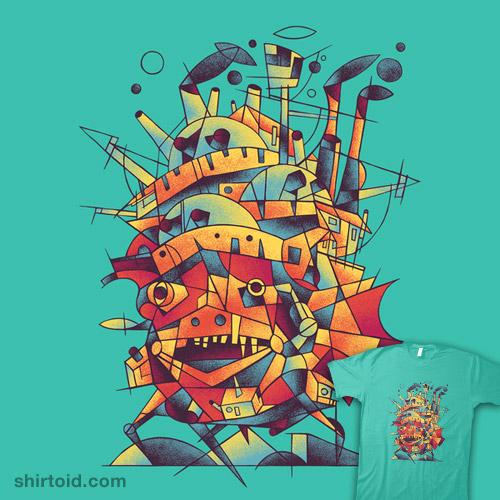 Cubist Moving Castle