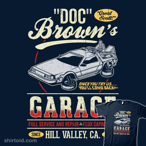 Doc Brown's Garage