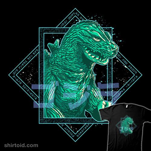 Godzilla Blue 54