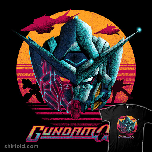 Gundam Exia in 80's Vibe