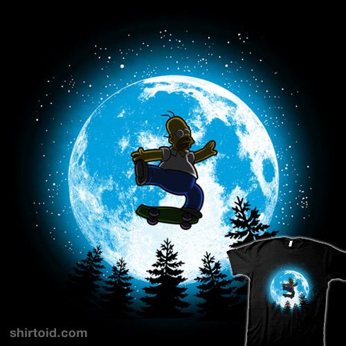 Moon skater