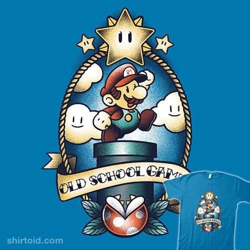 Super Old School Gamer