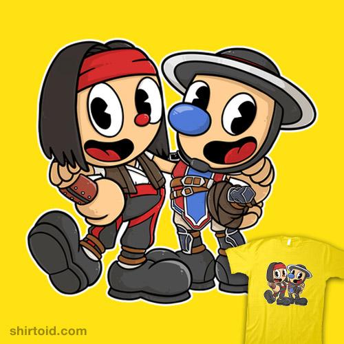 Liu-head & Kung-man