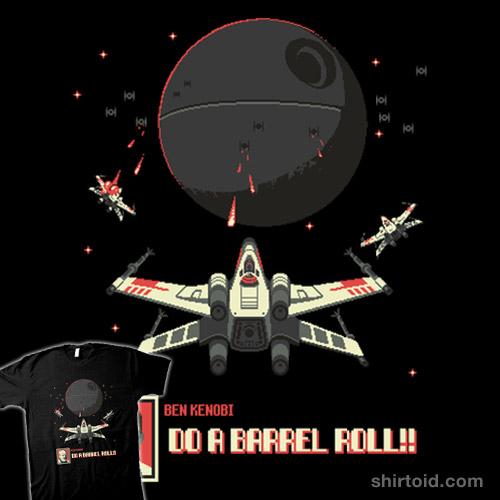 Luke, do a barrel roll!