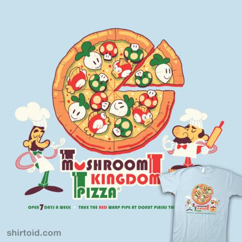 Mushroom Kingdom Pizza