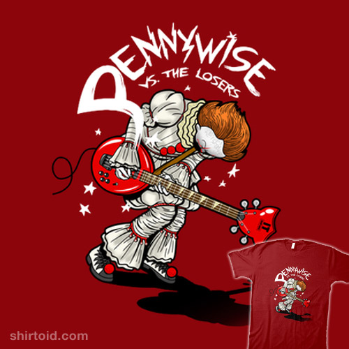 Pennywise vs. The Losers