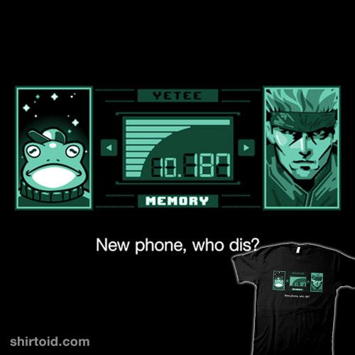 New Phone, Who Dis?