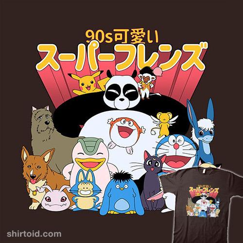 90s Kawaii Friends