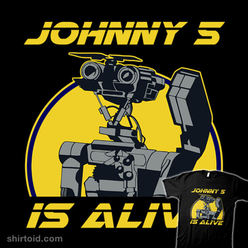 Johnny 5 Is Alive