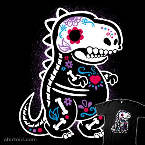 Skeleton t-rex