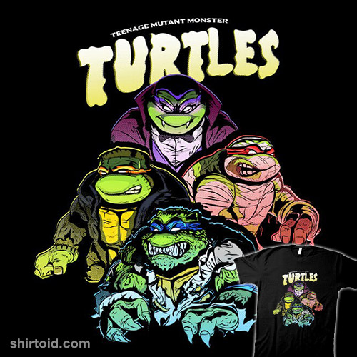 Teenage Mutant Monster Turtles