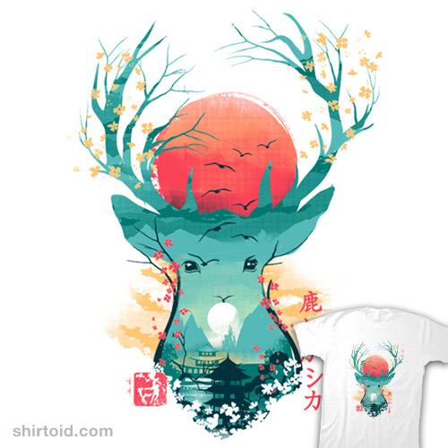 Ukiyo-e Deer
