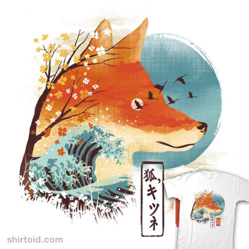 Ukiyo-e Red Fox