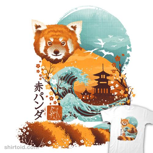 Ukiyo-e Red Panda