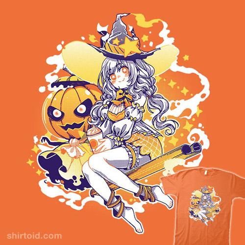 Pumpkin Spice Witch