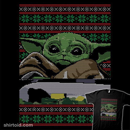 Baby Yoda Ugly Sweater