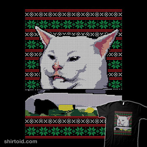 Cat Getting Yelled At Sweater