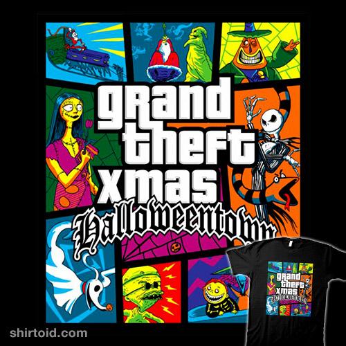 Grand Theft Xmas: Halloweentown