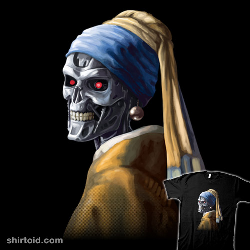Machine with a Pearl Earring