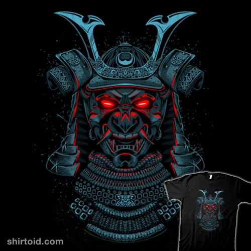 Samurai neon eyes