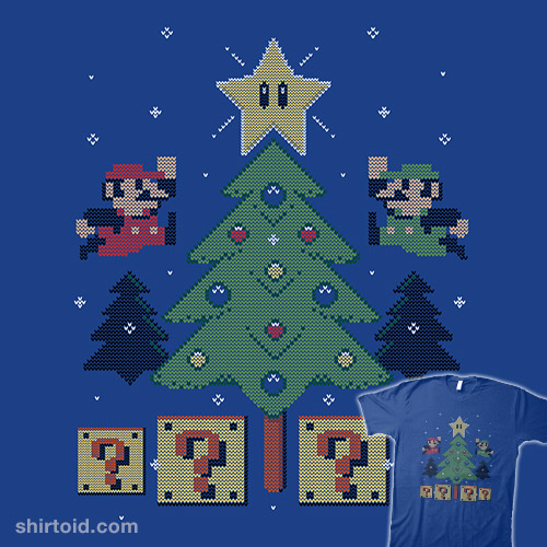 Super Bros Christmas Sweater
