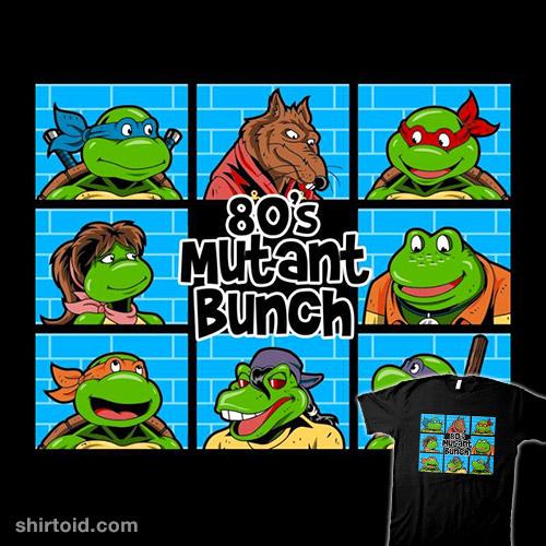 80's Mutant Bunch