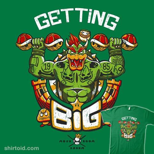 Getting Big Green Bowser