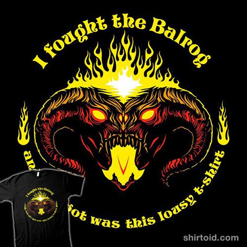 I Fought The Balrog
