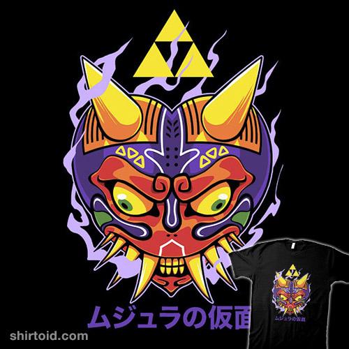 Majora's Oni Mask