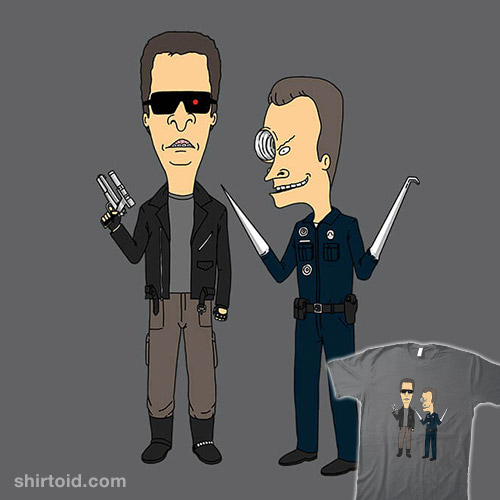 T-800 and T-1000