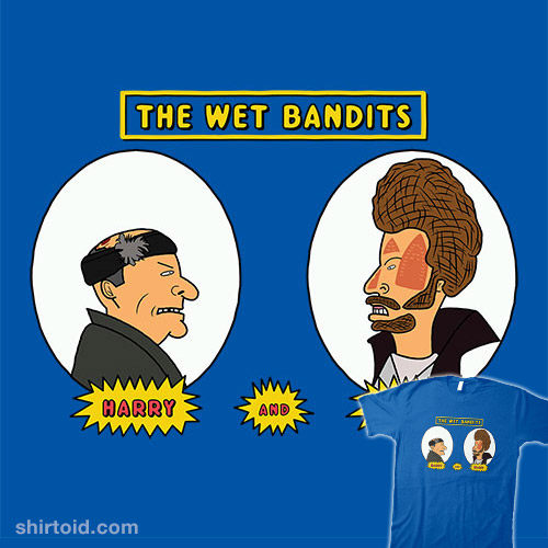 The Wet Bandits: Harry and Marv