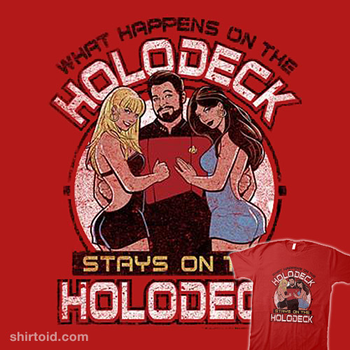 What Happens On The Holodeck