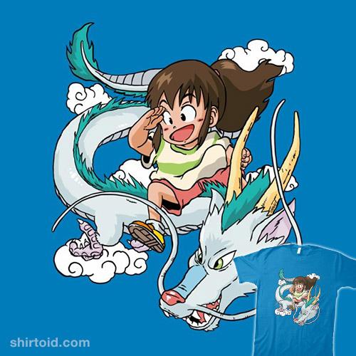Dragon Haku Shirtoid
