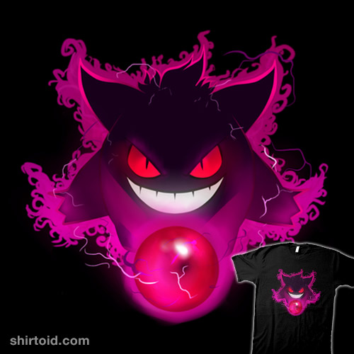 Gengar Haunted Smile