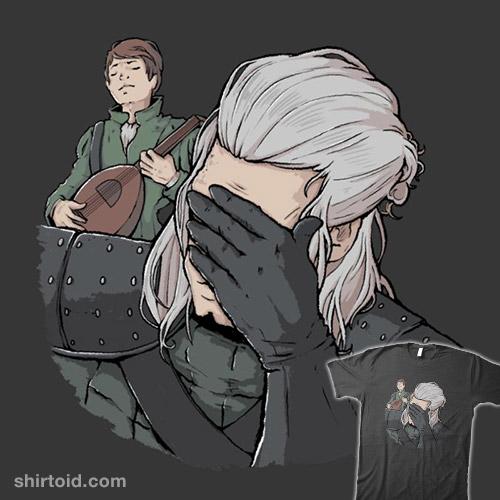Geralt Face Palm
