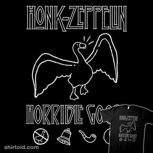 Honk Horrible Goose