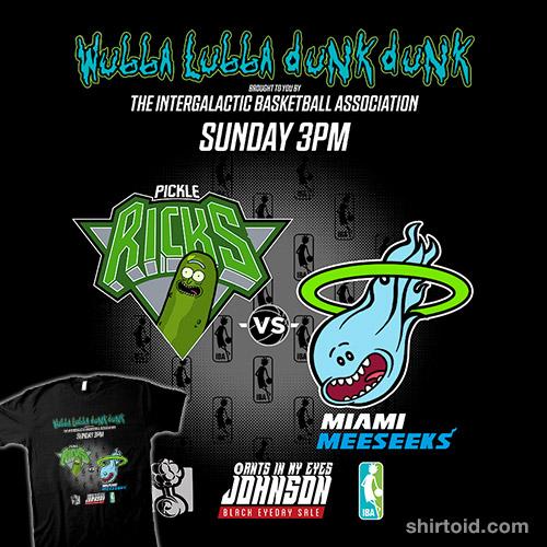 Pickle Ricks vs Miami Meeseeks