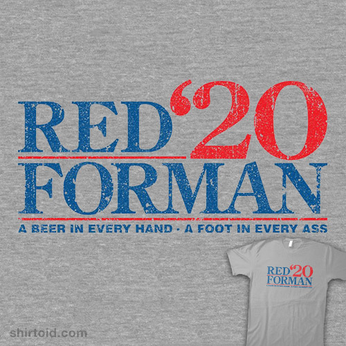 Red Forman 2020