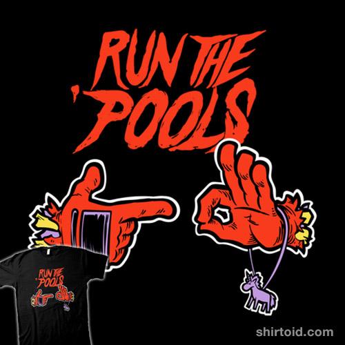 Run the 'Pools