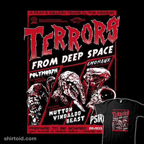 Terrors From Deep Space!