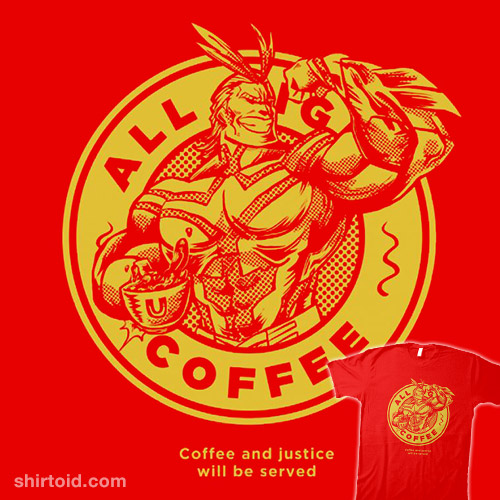 All Might Coffee