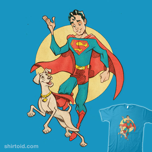 Boy of Steel and his Dog
