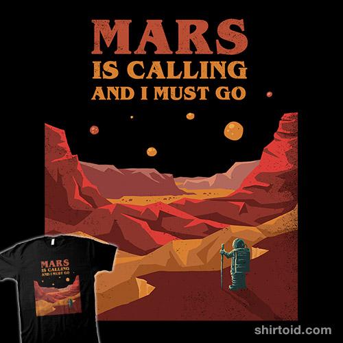 Mars Is Calling