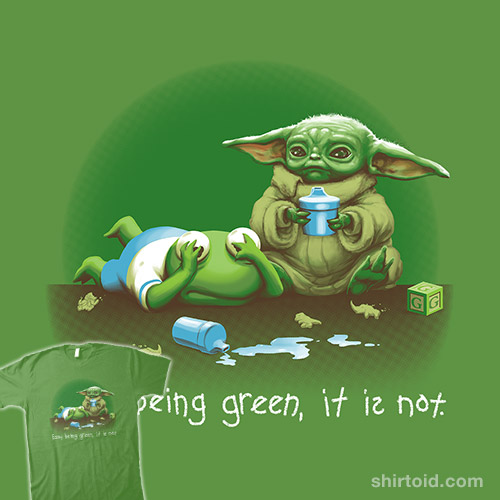 Not Easy Baby Green