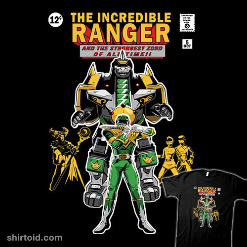 The Incredible Ranger (variant)