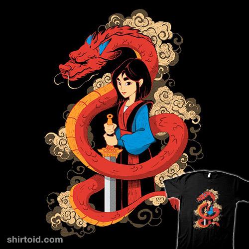 Mulan and the Dragon