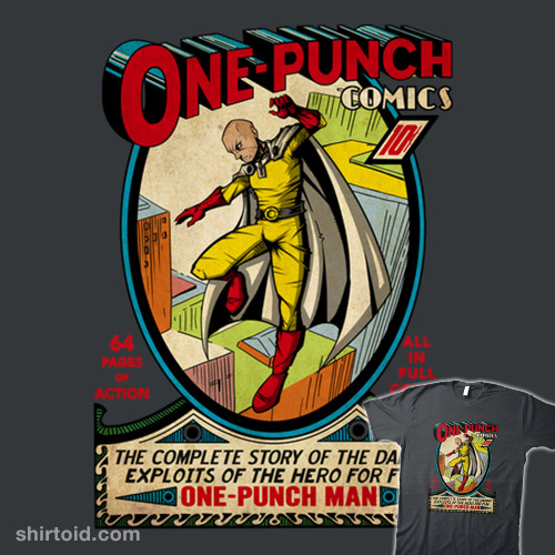 One-Punch Comics #1