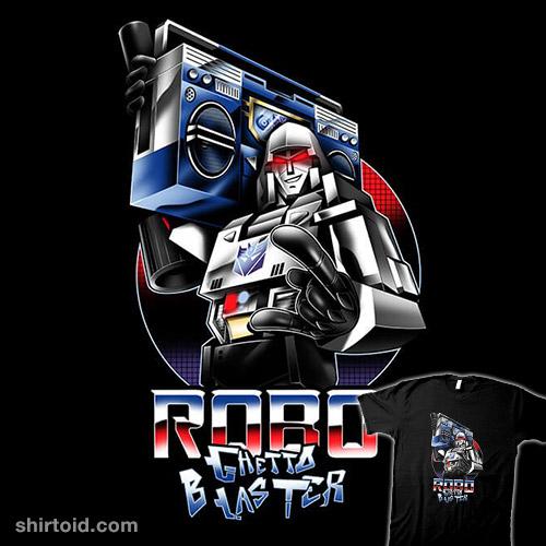Robo Ghetto Blaster