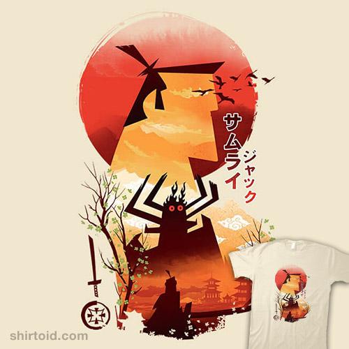Samurai Jack Ukiyo-e