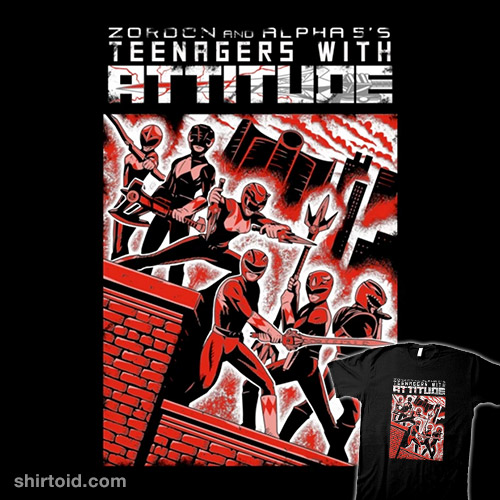 Teenagers with Attitude